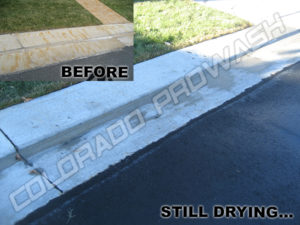 Rust Removal from Sidewalk