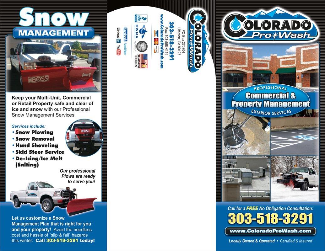 Download Brochure Denver Pressure Washing Colorado Pro